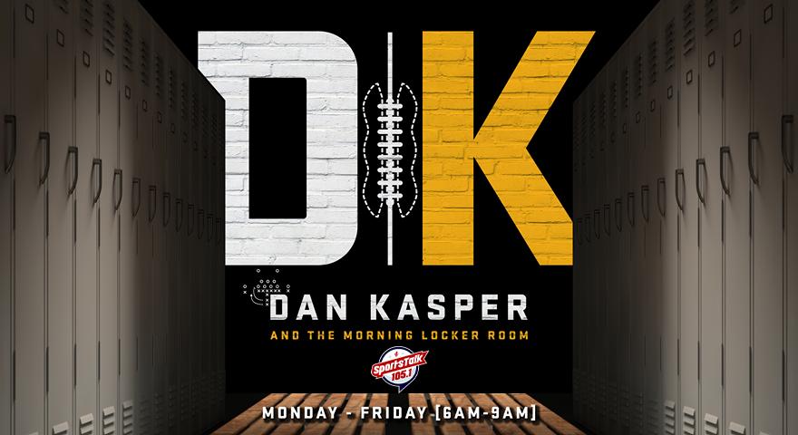 Watch Dan Kasper and The Morning Locker Room